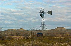 Alpine Texas windmill