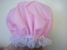 Waterproof Shower Cap Wedding Bonnet Soft Cream Pink by web4soleil, $19.50