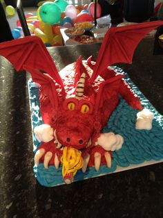 Room on the Broom Dragon Cake Birthday Candles, Birthday Cake, Room On The Broom, Pagan, Characters, Cakes, Eat, Cake Makers, Birthday Cakes
