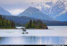 Trail Ridge Air, De Havilland Canada Beaver at Lake Clark, Alaska Bush Pilot, Bush Plane, Float Plane, Lake Pictures, Visit Canada, Aircraft Pictures, Aircraft Images, Panama City Panama, Live