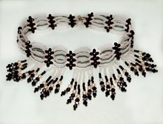 Free pattern for choker Ice Queen  Click on link to get pattern - http://beadsmagic.com/?p=6257