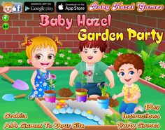Baby Hazel has decided to throw a Garden Party for her friends. Can you help in garden decoration and making other arrangements for the party? http://www.babyhazelgames.com/games/baby-hazel-garden-party.html