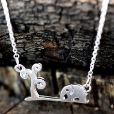 • SALE • Cute Silver Elephant & Tree Necklace • Super cute gift for yourself or loved one! Chain measures approx 18 inches, silver plated, made with zinc alloy. Color may be slightly different from the actual item due to the lighting. Bundle and save! :)  + gives discount on bundles | + 30% off for return customers | + ships the next day | + feel free to make a reasonable offer | Jewelry Necklaces