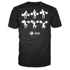 http://www.roguefitness.com/hookgrip-snatch-sequence-shirt.php?a_aid=4ff181ec18f98 #crossfit Hookgrip Snatch Sequence Shirt