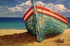 Original oil painting on canvas by Vladimir Nezdiymynoga. * This painting was made to order. Your painting will be very similar to this, in the same style and color. Note that before sending the painting needs time for oil paint drying. It usually takes 10-14 days. Size: 40/60cm - 16 24 If you are interested in other size of the canvas, please contact us. * On the front side of the picture - the authors signature and date. * Materials: Canvas, oil paints Canvas stretched on wooden frame a...