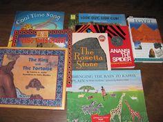 Montessori Tidbits: In the Continent Box -- Africa