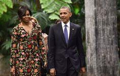 OK, We Get It, Michelle Obama: You Love Florals