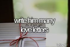 I love writing him love letters! not that he'll see them all just yet! but i still love it