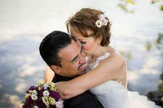 Traumhochzeit am Tegernsee - Hochzeitsfotos vom Brautpaar von dem Hochzeitsfotograf Andy vom MOKATI-Team
