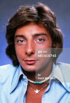 Barry Manilow from the 1970's.