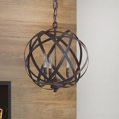 Stylize your home with this 3 Light Globe Pendant features a unique design that helps you enhance your decor. This globe pendant is constructed from premium quality materials. It is available in multiple Candle Style Chandelier, Kitchen Pendant Lighting, Pendant Lighting, Farmhouse Lighting, Globe Lights, Light, Lantern Pendant, Globe Pendant, Pendant Fixture