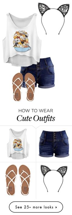 """""""Pusheens Outfit"""" by pancake-queen222 on Polyvore featuring Billabong and Fleur du Mal"""