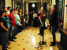 A Casa das Rosas promove no sábado, 23, às 19h, a estreia do Coral da Casa das Rosas, formado em março deste ano com o objetivo de cantar a poesia.