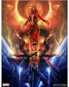 Doctor Strange and Scarlet Witch by Marvel Comics, Marvel Fan, Marvel Memes, Marvel Avengers, Marvel Doctor Strange, Wanda Marvel, Scarlet Witch Marvel, Light In, Avengers Wallpaper