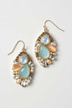 Cool earrings ($48), great to look at but not sure how often I would wear them?