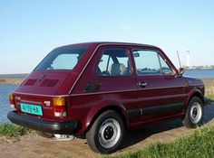 Fiat 126 Red Fiat 126, The Italian Job, Design Cars, Fiat Abarth, Steyr, Rally Car, Great Memories, Brochures, Car Pictures