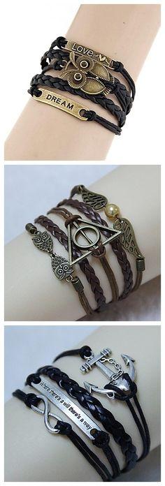 Bracelet with cool designs! Love them?