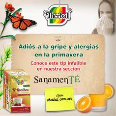 Dile que no la gripe y los resfriados con nuestra receta de jugo Natural. http://www.therbal.mx/sanamente/jugo-infalible-para-la-gripa.php#/page/1