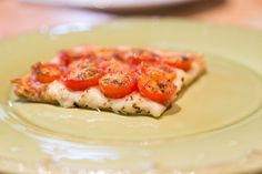 This is a perfect way to use those great tasting summer tomatoes. I have a glut of cherry tomatoes at the moment and so am always looking for ways to use them. Using frozen or store bought puff pas…
