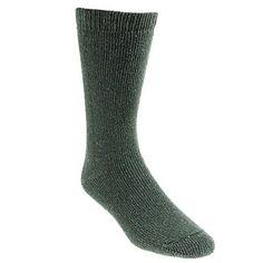 Wigwam Socks F2230-137 40 Below Mens Insulated Olive Socks