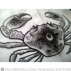 crab-illustration-tattoo-design