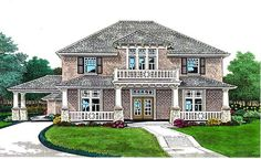☆House Plan 66104 | Craftsman   European   French Country    Plan with 3270 Sq. Ft., 5 Bedrooms, 4 Bathrooms, 3 Car Garag