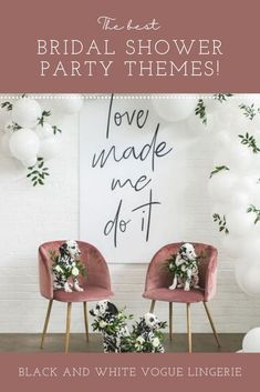 Plan the perfect bridal shower! Here are the BEST themes for 2021 / Bridal shower ideas / How to plan a Bridal Shower / Bridal Shower Inspiration / Lemon Bridal Shower / Garden / Southwest / Aloha / Something Blue / Tiffany's / Chanel / Adventure Awaits / Pearls of Wisdom Bridal Shower / Harry Potter / Friends Series / Pastel & Floral / Blush & Gold / Fiesta / Bohemian / Tea Party / Black & White Glam / Vogue Lingerie / Bubbles & Besties / Vintage Glamour / Scooped Up / Mint to Be / Rustic… Bridal Lingerie Shower, Bridal Shower Party, Bridal Shower Rustic, Bridal Showers, Friends Series, Shower Inspiration, Cool Themes, Pastel Floral, Blush And Gold