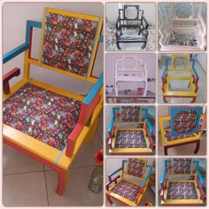 Mil925 Atelier https://www.facebook.com/Mil925-Atelier-578908522225983/  cadeira reaproveitada e customizada