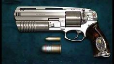 $40,000 - 454 Magnum Revolver with 30mm Grenade Launcher