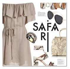 """Safari"" by ansev ❤ liked on Polyvore featuring Aquazzura and Alviero Martini 1° Classe"