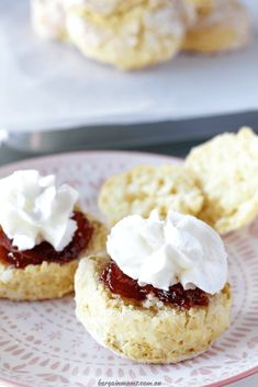 These 3 ingredients lemonade scones are the easiest scones you will ever make. Serve them with jam and cream and you have the perfect afternoon tea. Tea Recipes, Baking Recipes, Sweet Recipes, Dessert Recipes, Desserts Menu, Yummy Recipes, Cake Recipes, Recipies, Perfect Scones Recipe