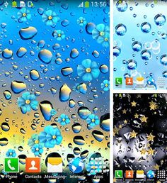 Téléchargement gratuit de Rainy day by Live wallpapers free pour Android.