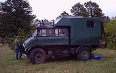 Off Road Capable, minimal electronics, diesel. Hard to think of anything better than an Unimog for WTSHTF.