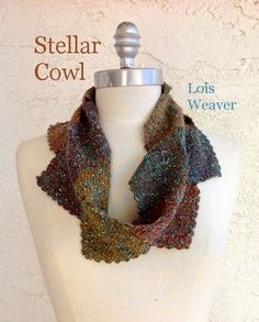 This Stellar Cowl is great for wearing in the Spring time!