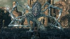 This is a boss from the game Bloodborne and I really like the multiple arm feature. also, the fact that that arms are quite long is quite intimidating as it offers the idea that they can reach further. When developing the body for my boss character I will perhaps consider using this feature.