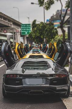 A big long car