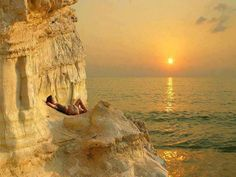 Sunrise in Greece.