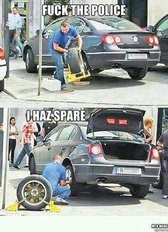Wheel clamp? No problem!