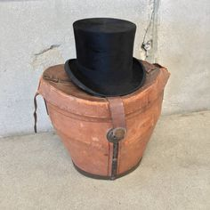 Beaver Top Hat with Felt Lined Box – UrbanAmericana