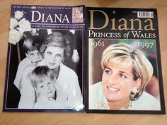 Princess Diana Tribute Magazines