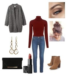 """""""Untitled #21"""" by elene-ioseliani on Polyvore featuring A.L.C., M.i.h Jeans, Nine West, Ippolita, NARS Cosmetics and Toast"""