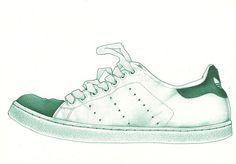 Adidas Stan Smith illustration