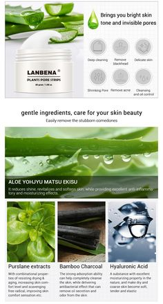 LANBENA Blackhead Nose Remover Pore Mask only needs 5 to 10 minutes to deeply clean and shrink your pores. Its an effective and satisfying way to remove blackheads and acne which leaves your skin bright and beautiful. Cold Home Remedies, Natural Remedies For Anxiety, Herbal Remedies, Face Mask For Pores, Blackheads On Nose, Aloe Vera Skin Care, Pore Strips, Skin Cleanse, Natural Beauty Tips