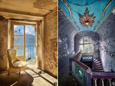 Sven Fennema captures dilapidated castles, abandoned palaces and decayed churches