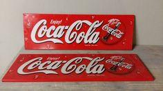 Coca-Cola - 2 reclame borden - Catawiki