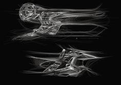 Mercedes-Benz Interior Sketch 2013