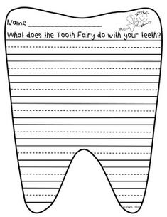 tooth fairy writing template - a school year just wouldn 39 t be a school year without fairy