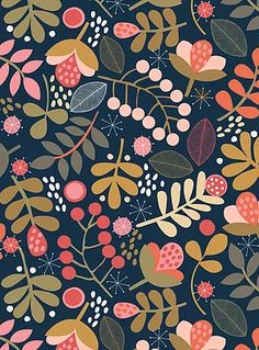 Ideas for wallpaper watercolor pattern inspiration Surface Pattern Design, Pattern Art, Pattern Design Drawing, Flora Pattern, Pattern Designs, Textile Patterns, Print Patterns, Stoff Design, Sunflower Wallpaper