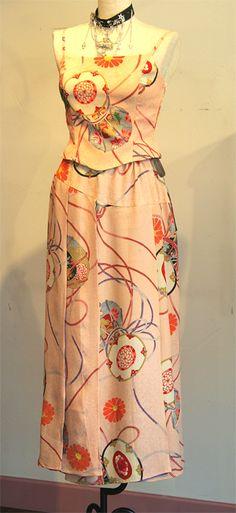 新作です。 | モードな着物リメイクデザイナーのすてき・おいしい - 楽天ブログ
