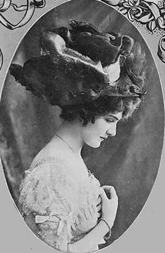 a5a6220687142 The Merry Widow Hat Repined by www.lecastingparisien.com Edwardian Fashion